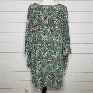 H&M Morris And Company Floral Shift Dress
